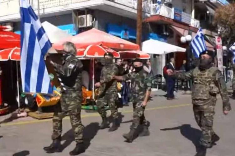 Παρέλαση κάνουν μόνον όσοι τους ορίζουν οι νόμοι της ελληνικής πολιτείας