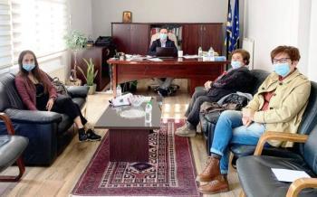 Συνάντηση του «Έρασμου» με το Δήμαρχο Νάουσας