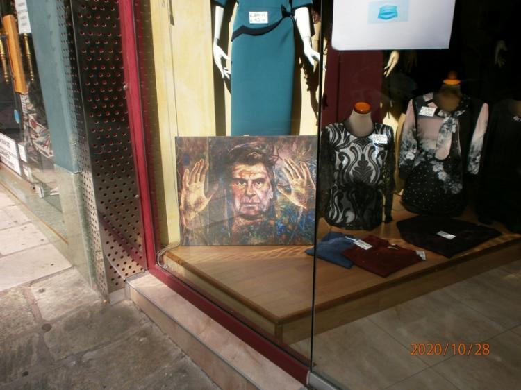 Δια χειρός Βαρλάμη εικονογραφημένος ο Μίκης Θεοδωράκης στη Βέροια!