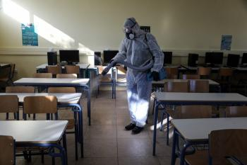 Συνεχίζονται οι απολυμάνσεις στα σχολικά συγκροτήματα του Δήμου Αλεξάνδρειας