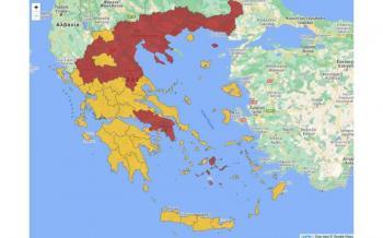 Σε τρεις ζώνες επιτήρησης για τον κορωνοϊό η Ελλάδα - Στη «ζώνη αυξημένου κινδύνου» η Ημαθία