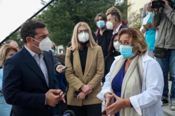 Τσίπρας: Δραματική η κατάσταση στα νοσοκομεία της Βόρειας Ελλάδας - «Να μην γίνουμε Μπέργκαμο»