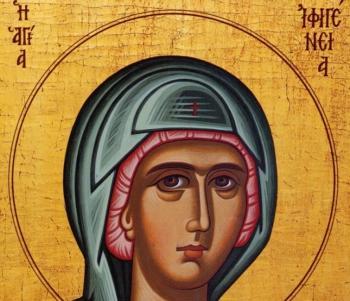 Αγία Ιφιγένεια από την Τοκάτη του Πόντου.