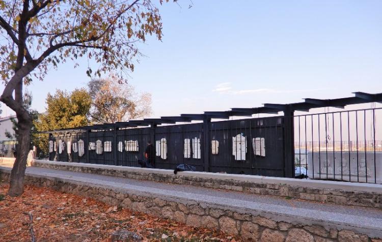 Ολοκληρώνεται ο «τοίχος της μνήμης» στο αρχαιολογικό μουσείο της Βέροιας