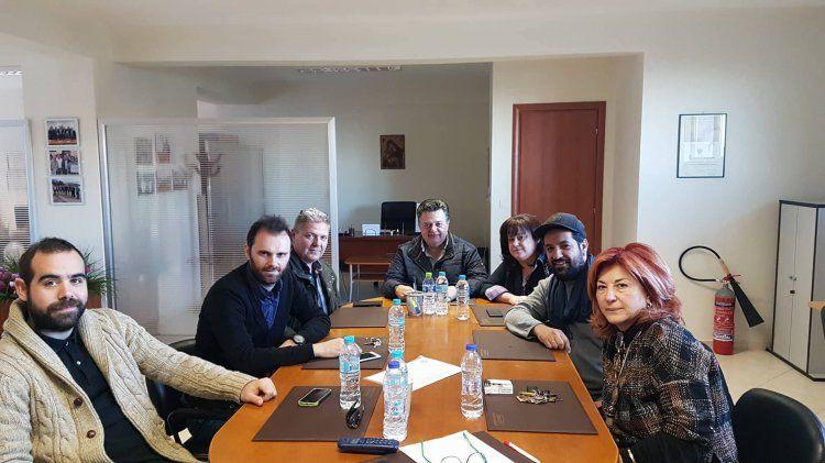 Με τον Εμπορικό Σύλλογο Βέροιας συναντήθηκε ο υποψήφιος πρόεδρος του Επιμελητηρίου Ημαθίας Γ.Μπίκας