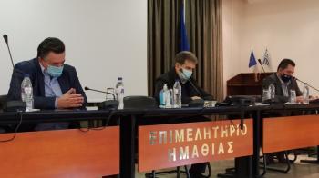 Στην Ημαθία, για τα μέτρα ενάντια στον κορωνοϊό, ο Μιχάλης Χρυσοχοΐδης