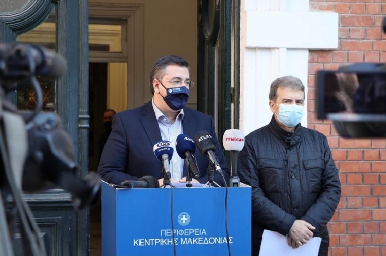 Χρυσοχοΐδης- Τζιτζικώστας : Άμεσος στόχος να δώσουμε 10 ημέρες καιρό στο Σύστημα Υγείας