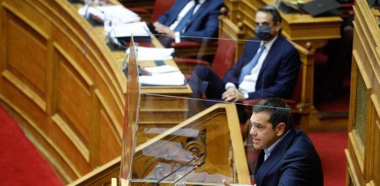 Τσίπρας στη Βουλή: Σε πλήρη απώλεια επαφής με την πραγματικότητα κυβέρνηση και Μητσοτάκης
