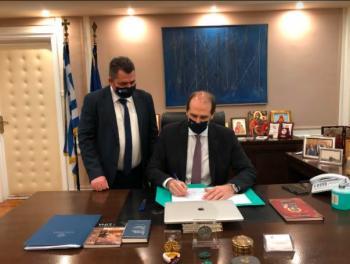 Ανοίγει ο δρόμος για το Διοικητήριο Ημαθίας, υπογράφηκε η παραχώρηση έκτασης του Δημοσίου προς την Π.Ε.