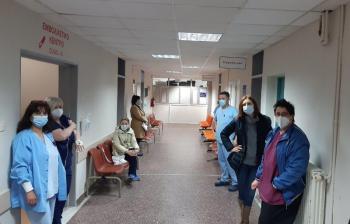 Κανονικά διεξάγεται ο εμβολιασμός κατά του covid-19 στο Νοσοκομείο Βέροιας