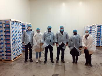 NOVACERT : Ιστορική, πρώτη εξαγωγή ελληνικού ακτινιδίου στη Νότια Κορέα