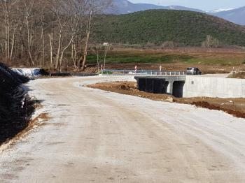 Υπό εξέλιξη Έργα Αγροτικής Οδοποιίας του Δήμου Βέροιας σε Τρίλοφο, Μακροχώρι και Ν. Νικομήδεια