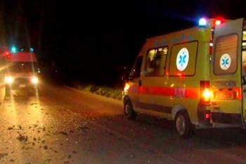 Θανάσιμος τραυματισμός 69χρονου οδηγού, το όχημά του ανετράπη εντός αρδευτικού καναλιού