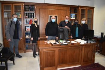 Συνάντηση της βουλευτή ΣΥΡΙΖΑ-ΠΣ Ημαθίας Φρόσως Καρασαρλίδου με εκπροσώπους του Δικηγορικού Συλλόγου Βέροιας