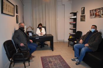 Συνάντηση της βουλευτή ΣΥΡΙΖΑ-ΠΣ Ημαθίας Φρόσως Καρασαρλίδου με εκπροσώπους των Κοινοτήτων του Δήμου Νάουσας