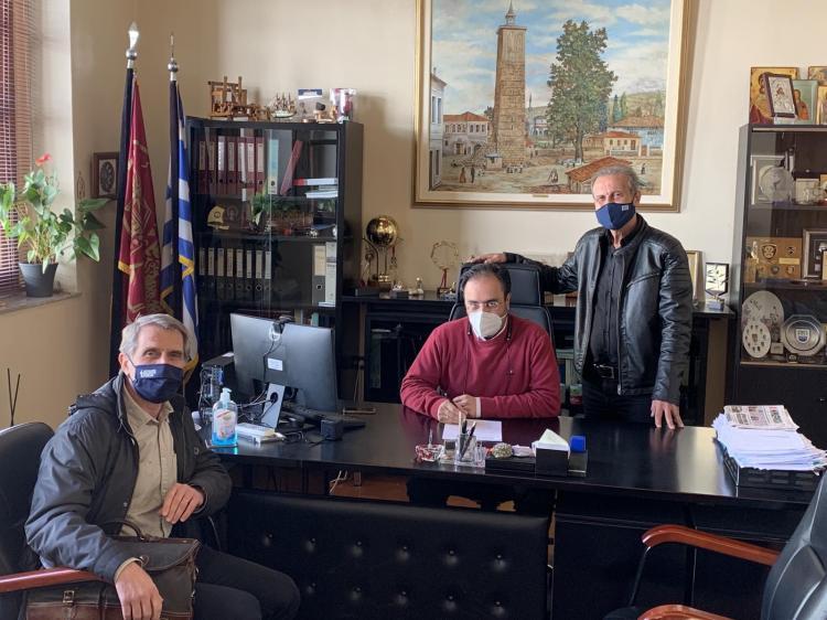 Δήμος Βέροιας : Ανακατασκευή της Πλατείας στην Κουμαριά