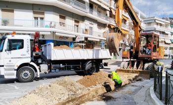 Ξεκίνησε η αντικατάσταση των τελευταίων αμιαντοσωλήνων στο δίκτυο ύδρευσης της Βέροιας