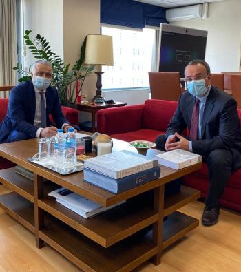 Το «άνοιγμα» του συνοριακού σταθμού της Κρυσταλλοπηγής για μεταφορά εμπορευμάτων ζήτησε ο Λάζαρος Τσαβδαρίδης