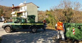 Ενημέρωση χρήσης πράσινων κάδων κοινών απορριμμάτων στην πόλη της Νάουσας