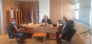 Με τον πρόεδρο του ΕΛΓΑ  και τον πρόεδρο του ΟΠΕΚΕΠΕ συναντήθηκαν μέλη του Α.Σ.Γ.Β.