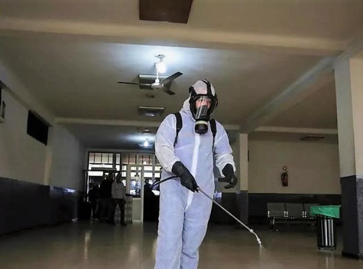 Προληπτικές απολυμάνσεις σε όλα τα Δημοτικά κτίρια και χώρους συνάθροισης κοινού πραγματοποιεί ο Δήμος Αλεξάνδρειας