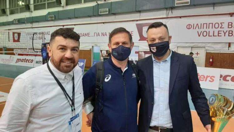 ΑΠΣ Φίλιππος Βέροιας Volleyball: Πιτούλιας, Ξανθόπουλος : «Σαν να πήρε το κύπελλο ο Φίλιππος»