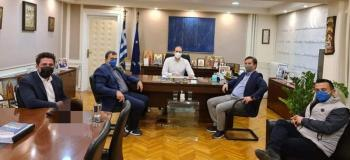 Με τον Υφ. Οικονομικών, Φορολογικής Πολιτικής και Δημόσιας Περιουσίας Απ.Βεσυρόπουλο, συναντήθηκε ο Δήμαρχος Νάουσας Ν.Καρανικόλας