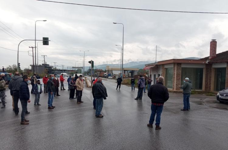 Συγκέντρωση διαμαρτυρίας ύστερα από κάλεσμα του Αγροτικού Συλλόγου Νάουσας «Μαρίνος Αντύπας»