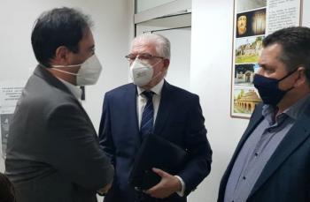 Συμμετοχή του Δημάρχου Βέροιας Κων/νου Βοργιαζίδη στην ευρεία σύσκεψη υπό τον πρόεδρο του ΕΛΓΑ Ανδρέα Λυκουρέντζο