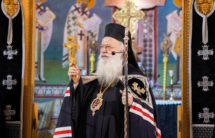 Η Ακολουθία του Νυμφίου στο Ιερό Προσκύνημα της Παναγίας Σουμελά στο Βέρμιο