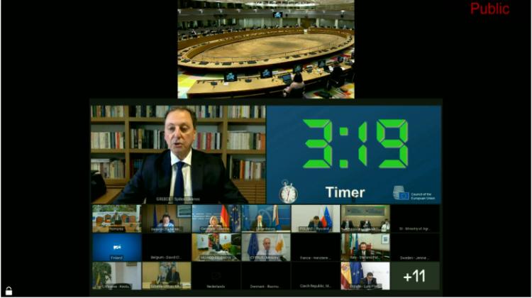 Σ. Λιβανός στη Σύνοδο ΥΠΑΑΤ της ΕΕ : «Να ενεργοποιηθούν όλα τα έκτακτα και πρόσθετα μέτρα για αποζημίωση των παραγωγών από τους παγετούς»