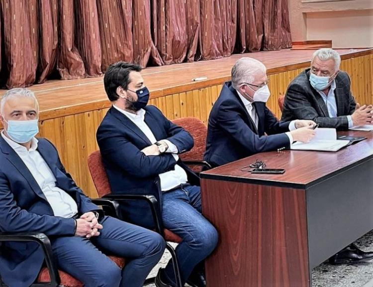 Επίσκεψη του προέδρου του ΕΛΓΑ στις Τ.Κ. Μελίκης και Κυψέλης