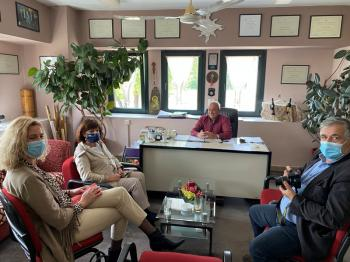 Η Βουλευτής του Σύριζα κα Καρασαρλίδου στο ΒΑΕΝΙ ΝΑΟΥΣΑ