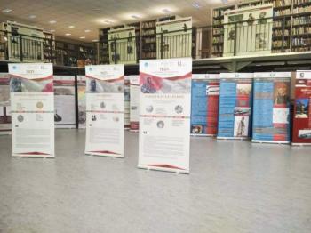 Δημοτική Βιβλιοθήκη Νάουσας : Έκθεση περιγραφικών λαβάρων της δράσης «1821:Οι βιβλιοθήκες της Μακεδονίας στην Τοπική Ιστορία»