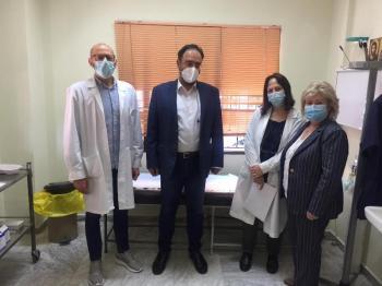 Δήμαρχος Βέροιας : «Υποδειγματική η διαδικασία εμβολιασμού στο Κέντρο Υγείας Βέροιας»