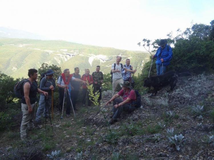 Πιέρια όρη (θέση Γκόλνα) 1235μ., Κυριακή 9 Μαϊου 2021, με τους Ορειβάτες Βέροιας