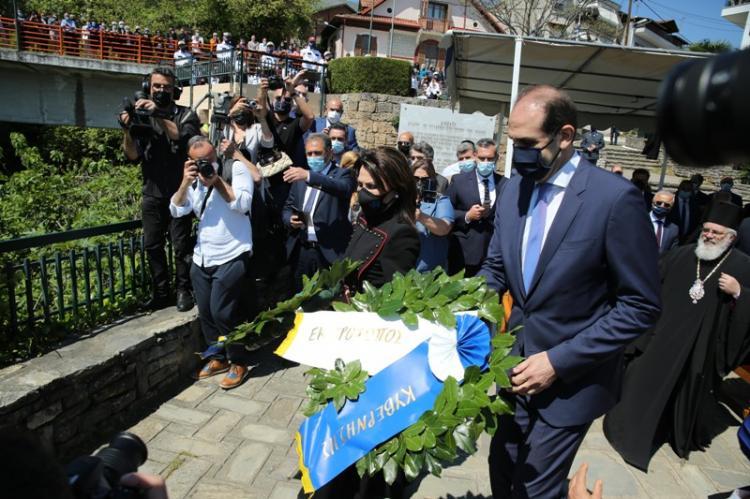 Παρουσία του Υφ.Οικονομικών, Απ.Βεσυρόπουλου & της Προέδρου της Επιτροπής «Ελλάδα 2021», Γ.Αγγελοπούλου, οι εκδηλώσεις για την 199η Επέτειο του Ολοκαυτώματος της Νάουσας