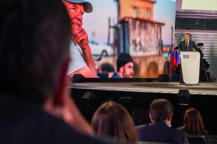 Ο Απόστολος Τζιτζικώστας στην εναρκτήρια εκδήλωση της Διάσκεψης για το Μέλλον της Ευρώπης, στο Στρασβούργο