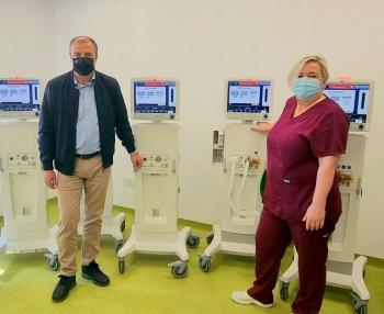 Με γοργούς ρυθμούς ο εξοπλισμός της νέας πτέρυγας του Νοσοκομείου της Βέροιας