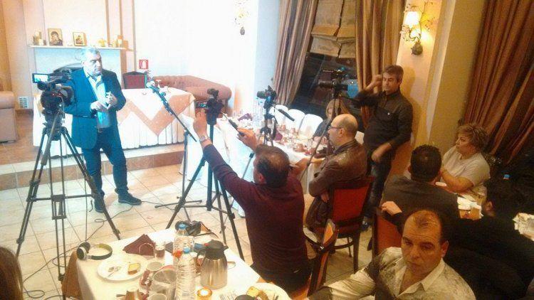 Τις προγραμματικές θέσεις και το έργο της προηγούμενης θητείας του παρουσίασε στην Αλεξάνδρεια ο Τ.Γιάγκογλου