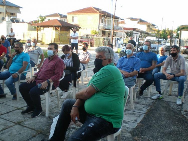 Πραγματοποιήθηκε το απόγευμα της Τετάρτης η συνέλευση του Αγροτικού Συλλόγου Ημαθίας