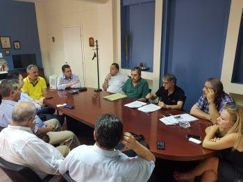 Ευρεία σύσκεψη στην Π.Ε. Ημαθίας για την αντιμετώπιση της υπερσυσσώρευσης ροδακίνων