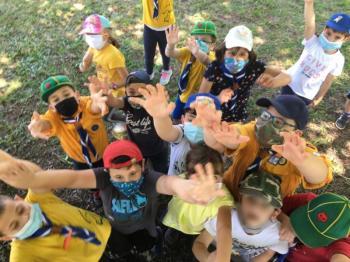 Μικροί εθελοντές του 5ου Συστήματος Προσκόπων Βέροιας καθάρισαν το Κομνήνιο