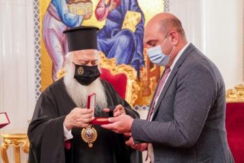 Ο Γενικός Πρόξενος της Γεωργίας στο Μητροπολίτη Βεροίας
