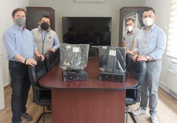 Δωρεά υπολογιστών στο Δήμο Νάουσας από το «Κέντρο Δια Βίου Μάθησης - ΕΚΕΔΙΜ Θεοχαρόπουλος»