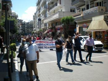 Πραγματοποιήθηκε χθες 24ωρη απεργία σε ιδιωτικό και δημόσιο τομέα ως αντίδραση στο προς ψήφιση εργασιακό νομοσχέδιο