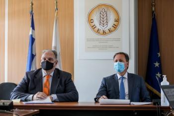 Επίσκεψη Σπ. Λιβανού στον ΟΠΕΚΕΠΕ : «Είστε η καρδιά του συστήματος της αγροτικής οικονομίας»