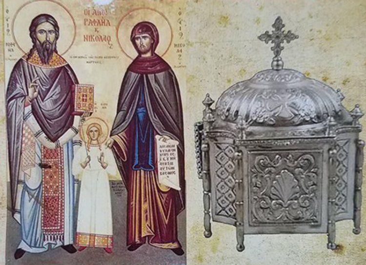 Υποδοχή των λειψάνων των Αγίων Ραφαήλ, Νικολάου και Ειρήνης στην Πατρίδα Βέροιας