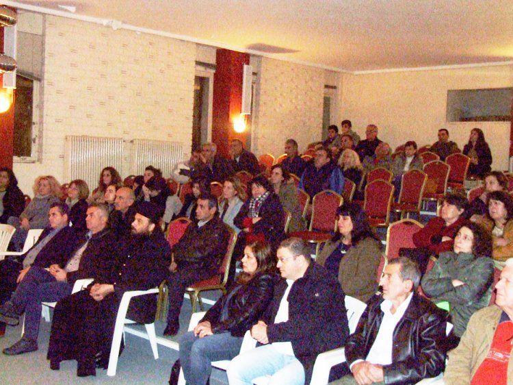 Σε εκδήλωση του Συλλόγου Γονέων Γυμνασίου Επισκοπής αφύπνισε συνειδήσεις ο Δημήτρης Νατσιός