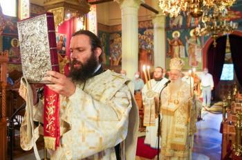 Κυριακή Β΄ Ματθαίου στην Ιερά Μονή Αγίου Αθανασίου Αγκαθιάς